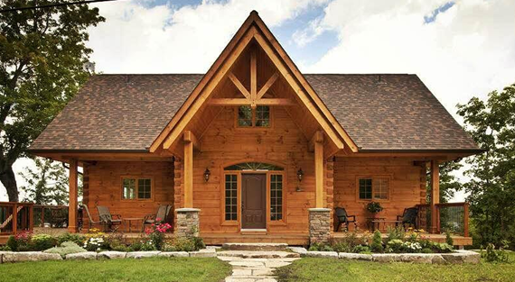 The leading log home manufacturer in North America, Confederation ...