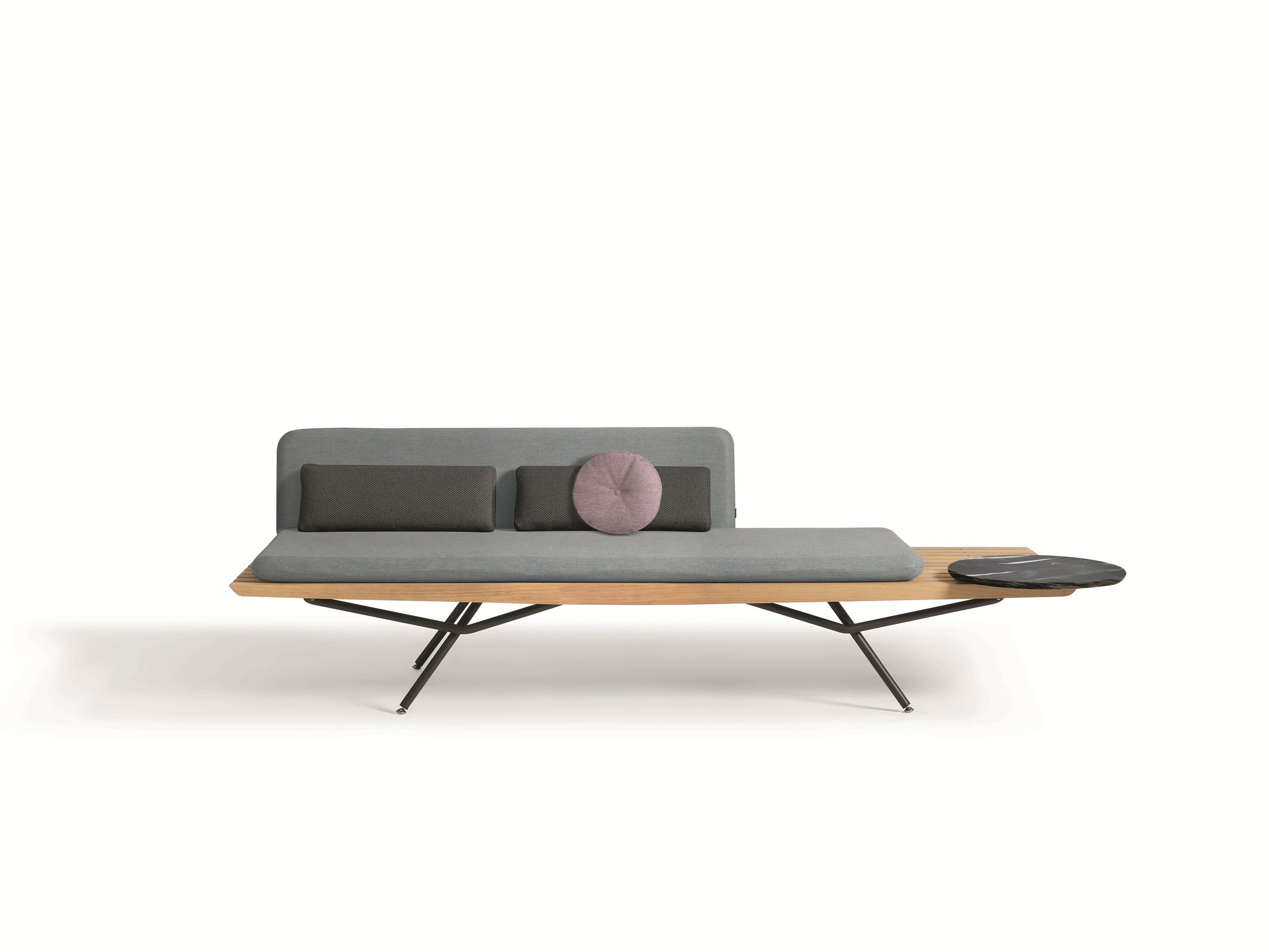 Iroko bench seating with back SAN   Bench seating with back ...