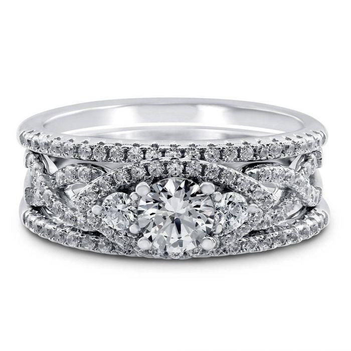 63462ec91 A Romantic Swarovski Zirconia Bridal Set in 2019 | Valentine's Day ...