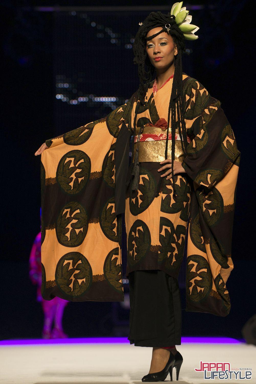 Kimono fashion with new pattern ideas