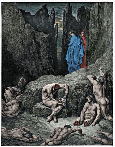 analysis of dantes divine comedy In the divine comedy's plot, dante is first guided through hell (the inferno) by the roman poet virgil this is the one part of the work that is most frequently paper masters writes custom research papers on dante's divine comedy and examine the allegorical tale about dante's journey through hell.