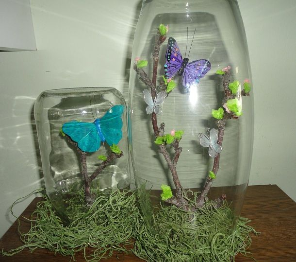 Awesome Craft Home And Garden Ideas Part - 14: Ambacht, Home And Garden Ideas - Butterfly Jar