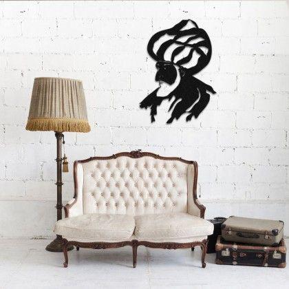 Tableau Deco En Acier Fatih Sultan Mehmet Couleur Gris Mobilier De Salon Mobilier Meuble
