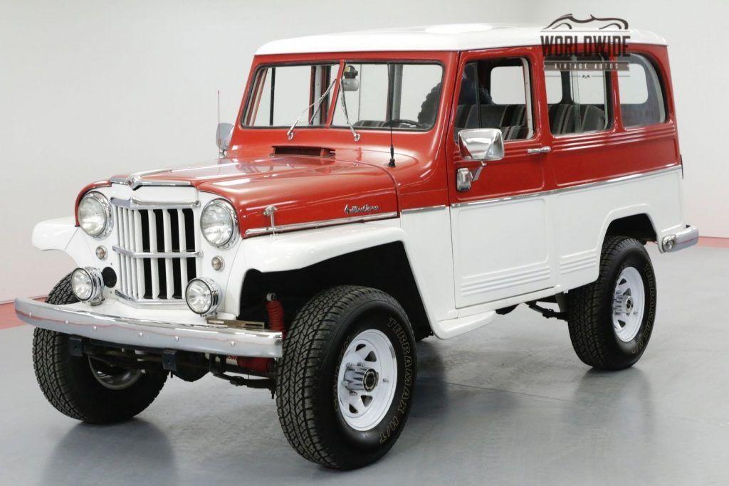 1961 Jeep Willys Wagon Restored Rare Wagon 4x4 Willys Jeep