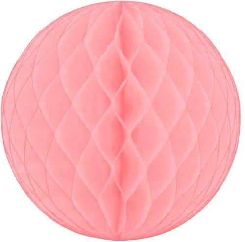 Pink Honeycomb Ball