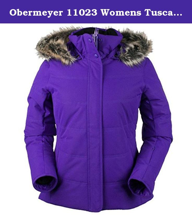 Obermeyer 11023 Womens Tuscany Jacket, Iris Purple-8P. The ...