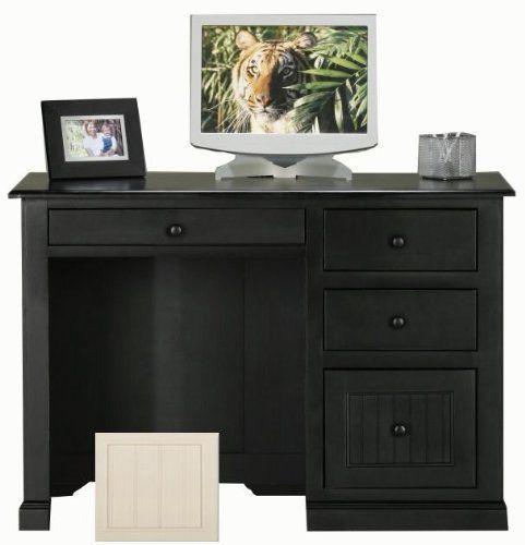 Coastal Birch Single Pedestal Desk Finish: Soft White By Eagle Industries.  $803.00.