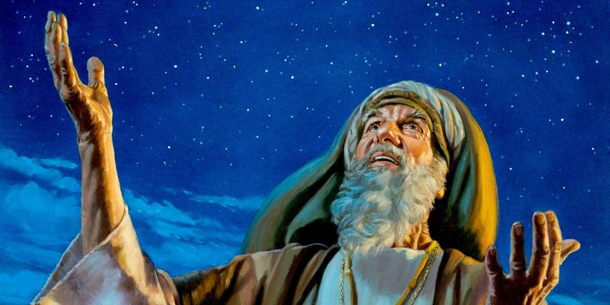 God's Covenant With Abraham | Bible Message | Biblical art, Prophetic art,  Bible