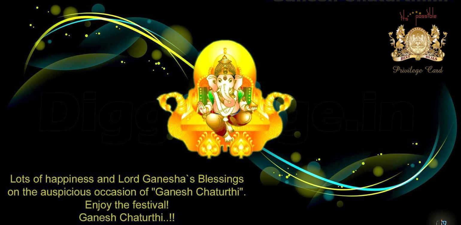 May The Blessings Of Lord Ganesha Be Always Upon You Happy Ganesh
