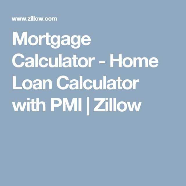 Refinance mortgage calculator with pmi