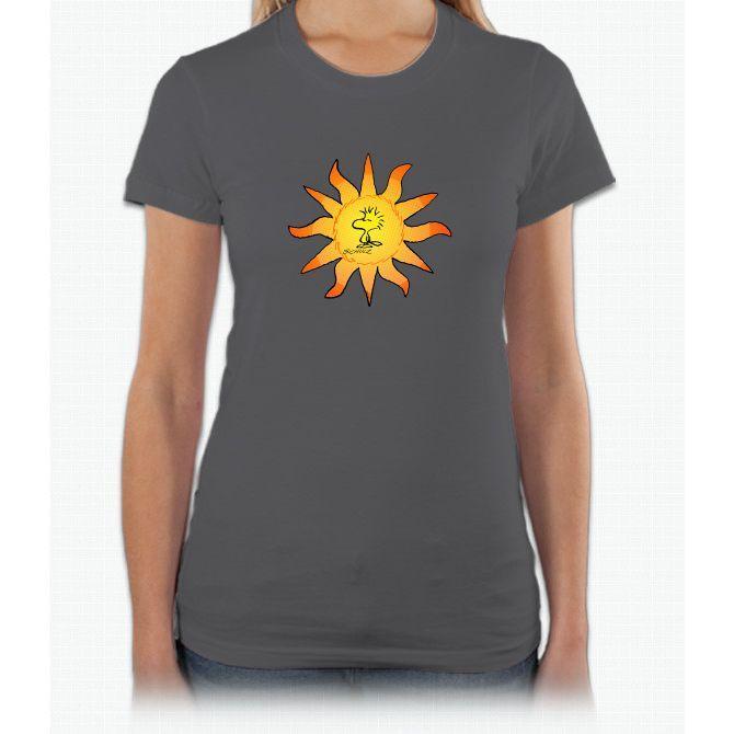 Sunny Bird Charlie Brown Short Sleeve Women T-Shirt