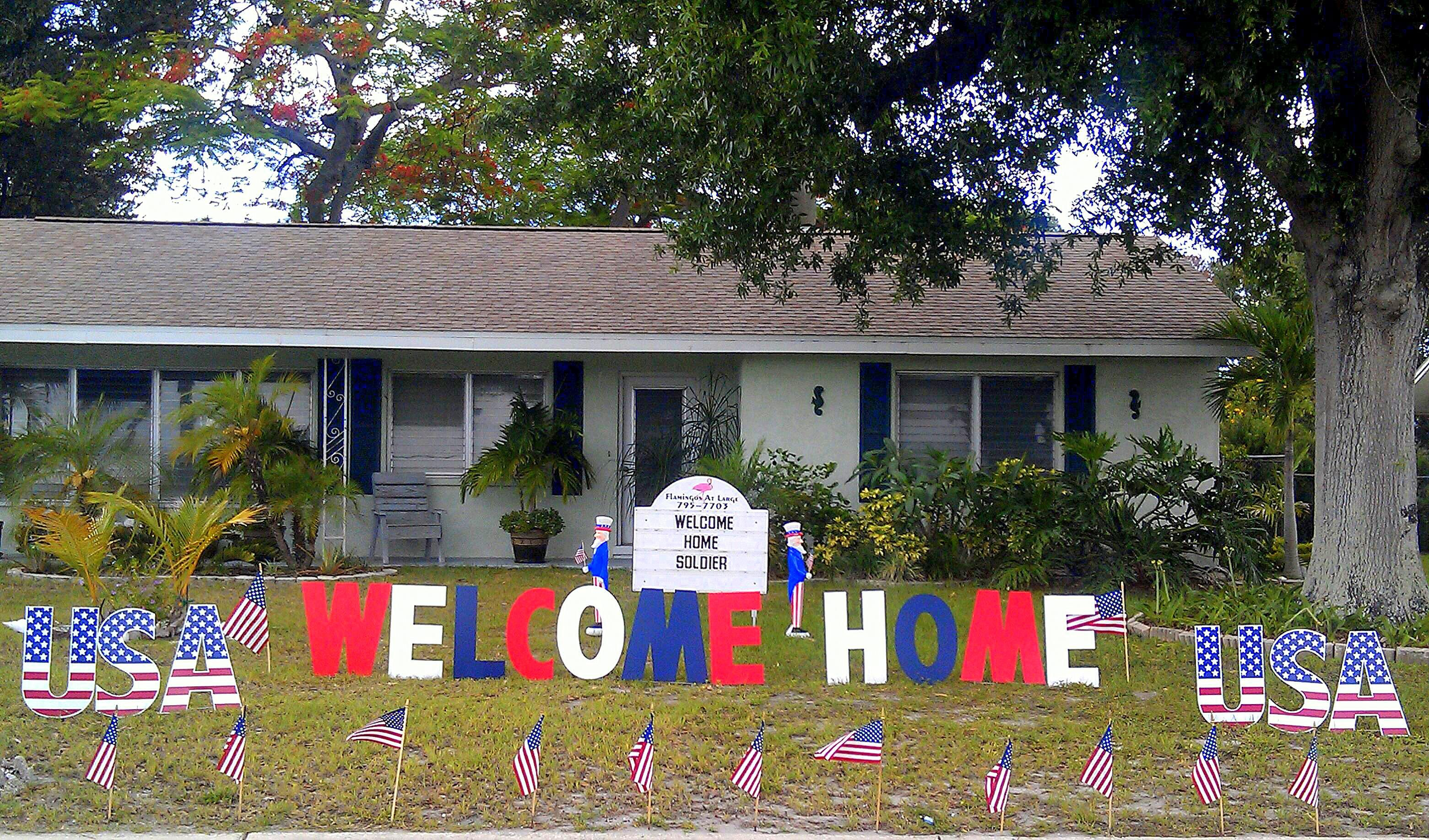 101+ Awesome Ideas For Military Welcome Home Signs | Military, Homecoming  And Military Life