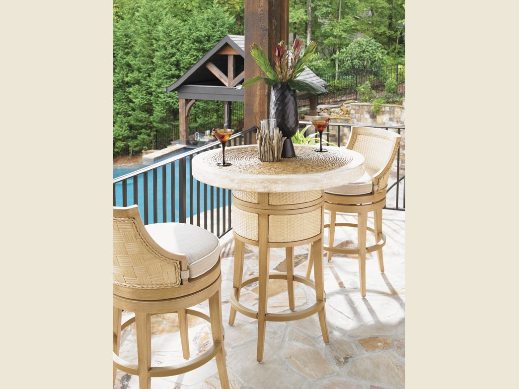 Superb Tommy Bahama Outdoor Living Canberra Surf And Sand Bistro Machost Co Dining Chair Design Ideas Machostcouk