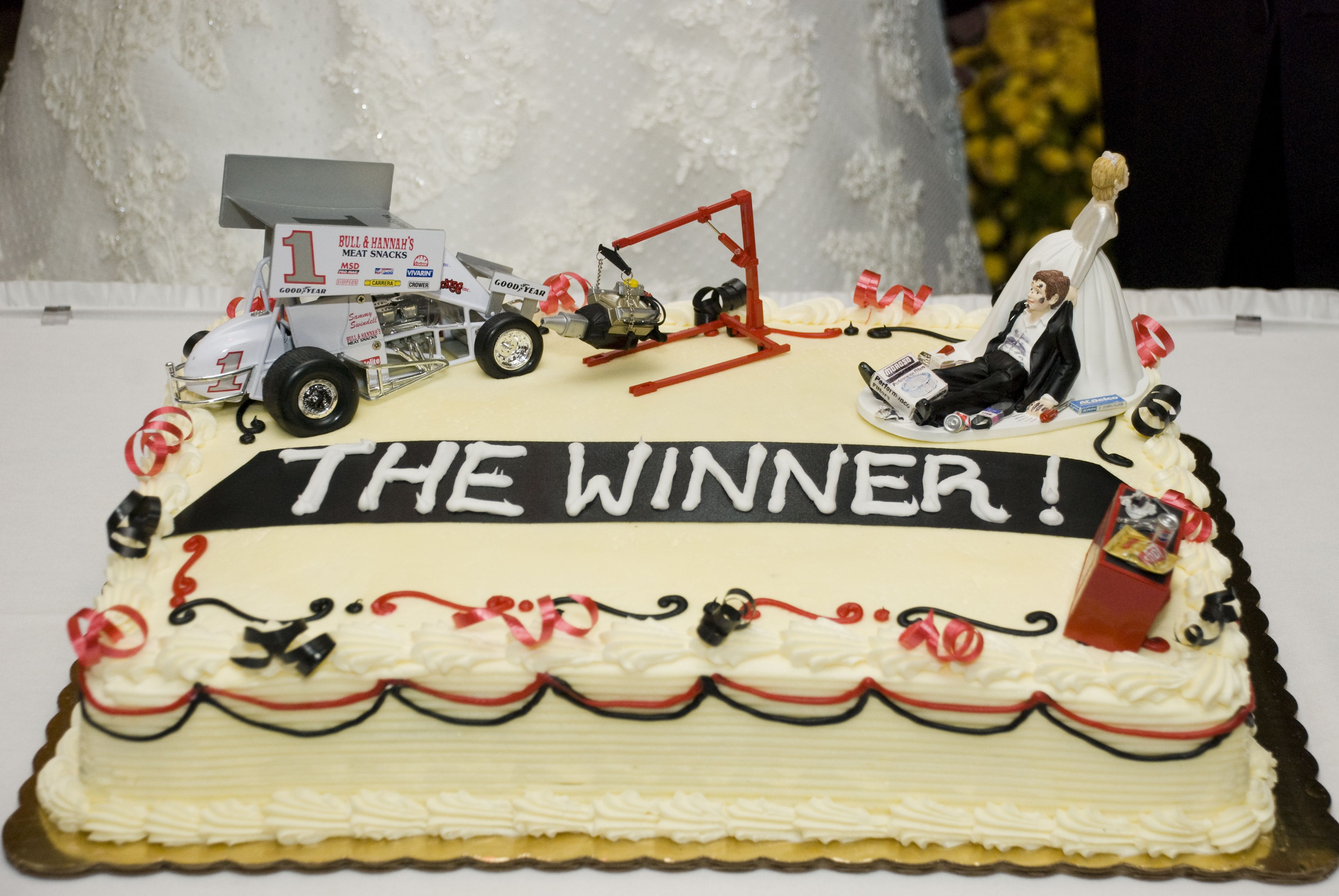 Grooms Cake For Mechanic And Sprint Racer Sewing Crafts
