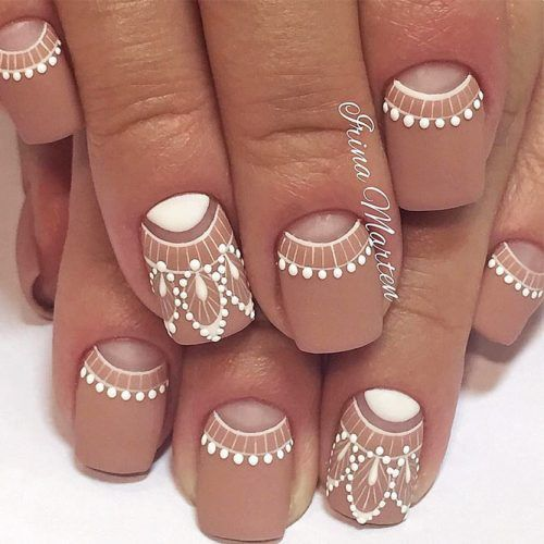 Elegant And Hip Designs For Matte Nail Polish See More Glaminati