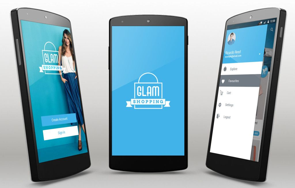 Glam eCommerce App Template for Android | App Templates for ...