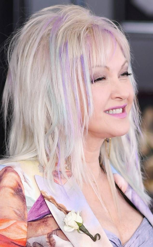 Cyndi Lauper From Best Beauty At The Grammy Awards 2018 In 2018