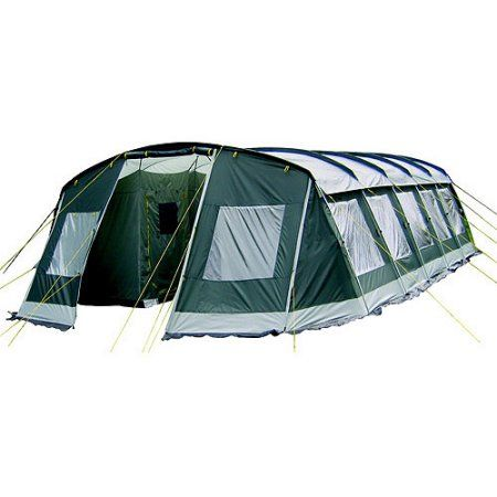 Ozark Trail Agadez 20 Person 10 Room Tunnel Tent Tunnel Tent Family Tent Camping 20 Person Tent