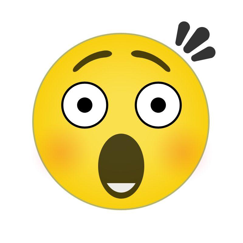 Image Gallery Shocked Emoji