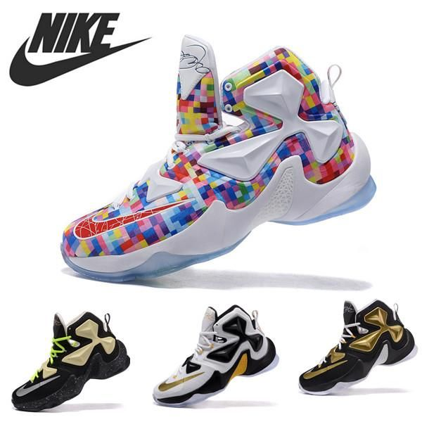 DHgate.com is an online wholesale seller, providing many kinds of 2015  men's basketball shoes nike zoom lebron james 13 lj13 retro new athletic  sport ...