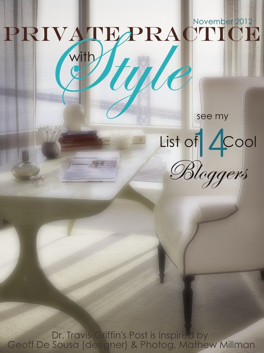Just Released: Oct-Nov 2012 List of Private Practice Bloggers