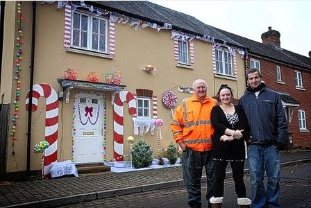 Couple turn Uffculme home into a gingerbread delight | Tiverton Mid Devon Gazette