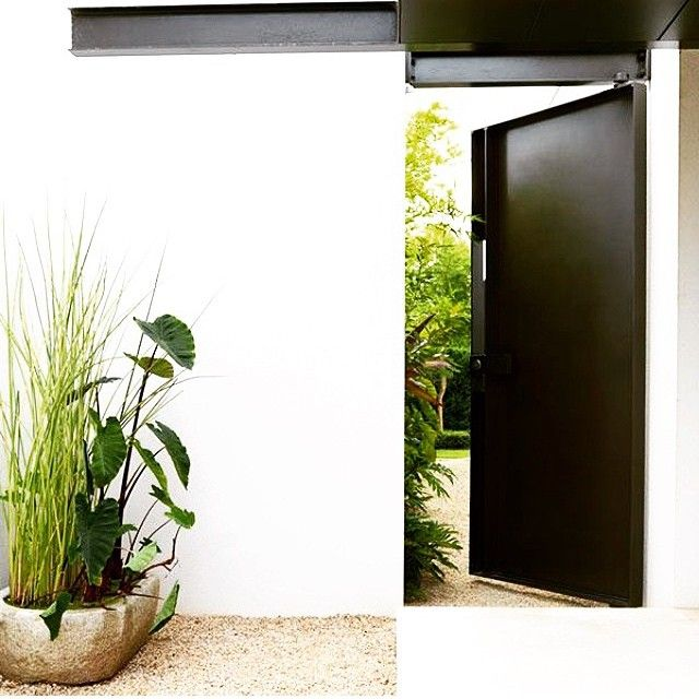 """""""Very Welcoming !  Pinterest #welcome #entrance #blackandwhite #nature #potplants #lux #style #interiors #interiorinspiration #love #landscaping #theoldsalt"""" Photo taken by @the_old_salt on Instagram, pinned via the InstaPin iOS App! http://www.instapinapp.com (02/13/2015)"""