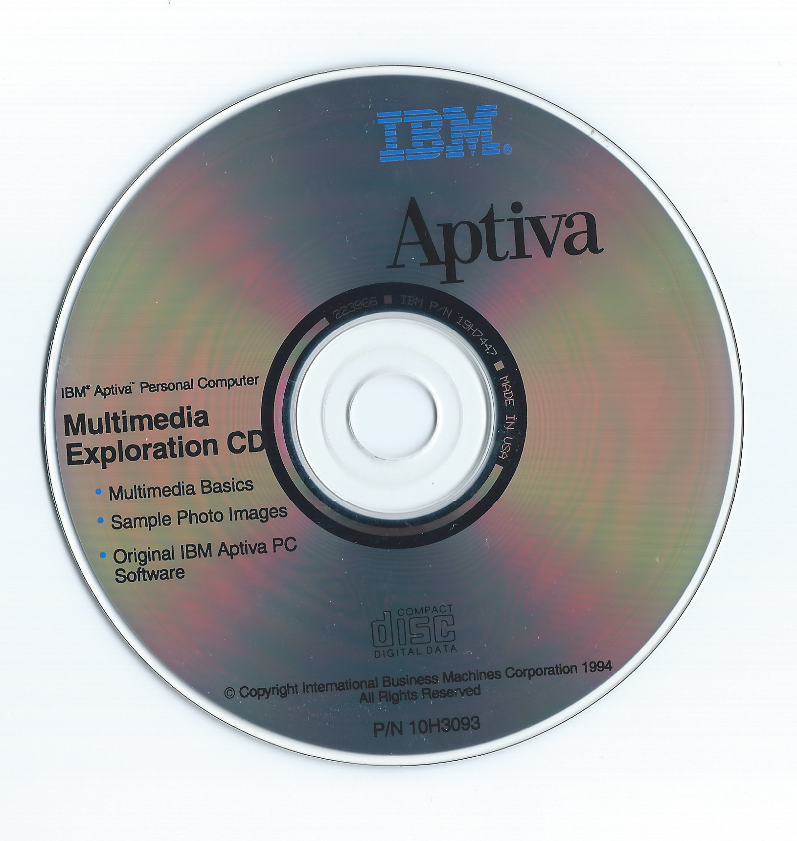 This disk is infamous for the hover game and 2 music videos hosted