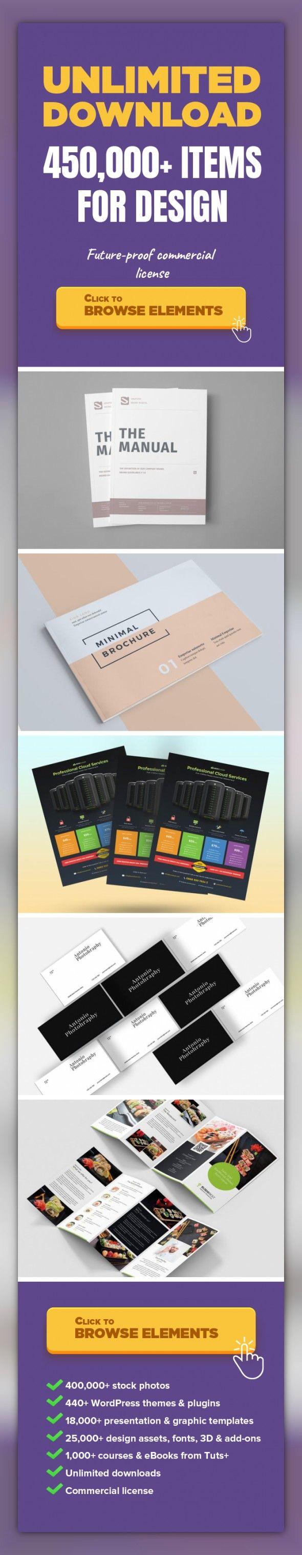 Brand Manual Graphic Templates Print Templates Brand Manual