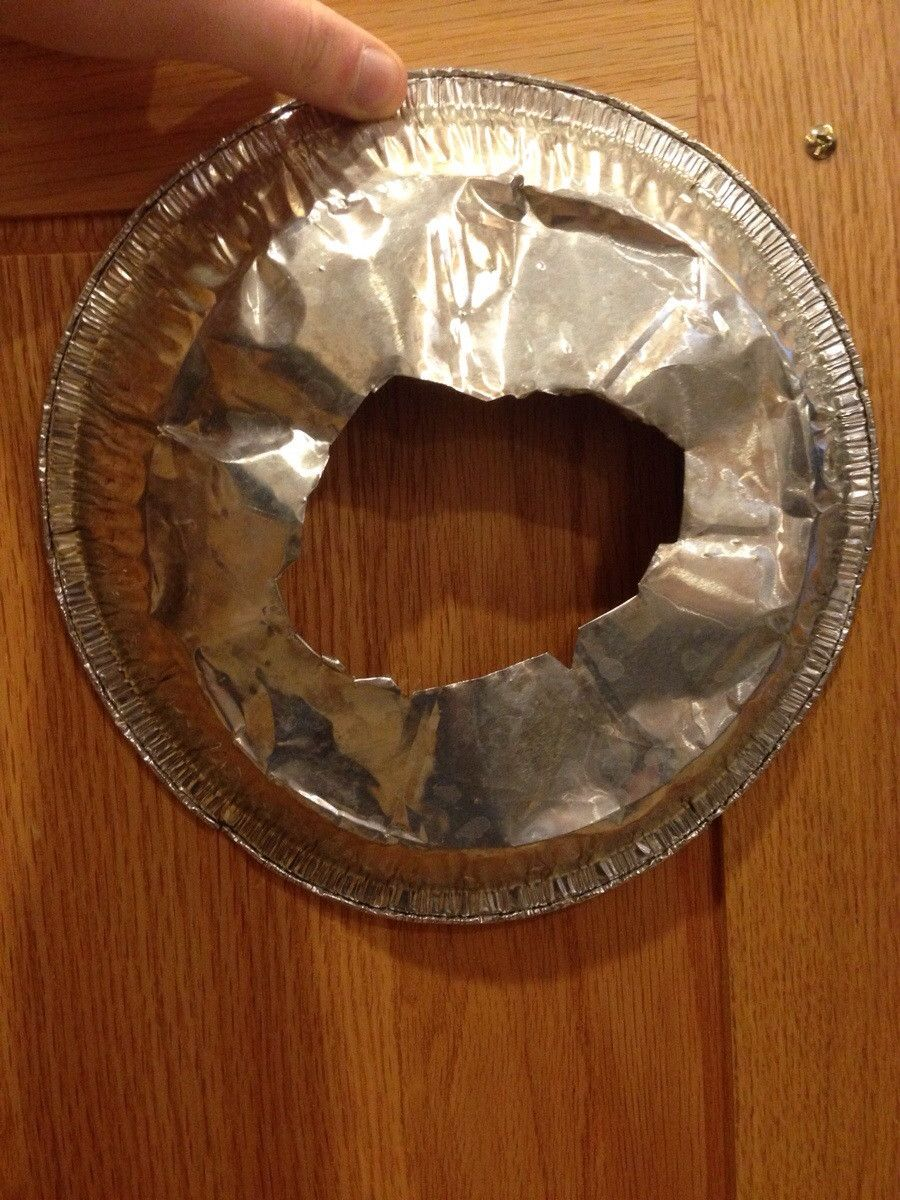 Tip from Memaw: this keeps your pies from burning around the edges. - Imgur