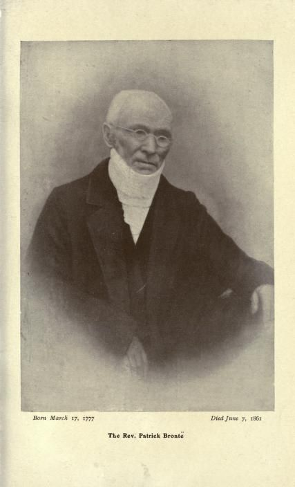 Rev Patrick Bronte, father of the Bronte sisters, photographed in 1860 after their deaths.