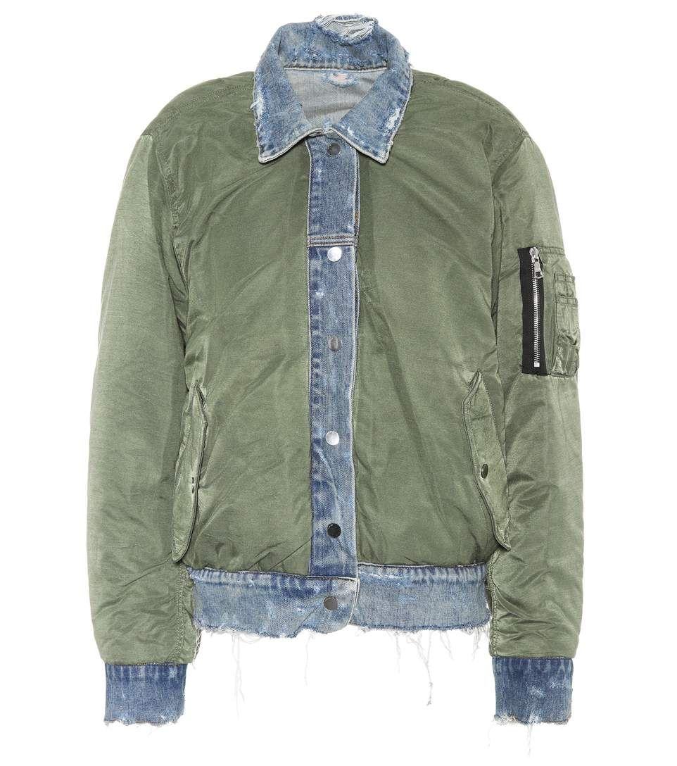 AMIRI Reversible bomber jacket. #amiri #cloth #   Green
