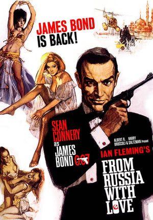 James Bond Sean Connery Goldfinger Film Agent 007 Novels Poster London Man Gun