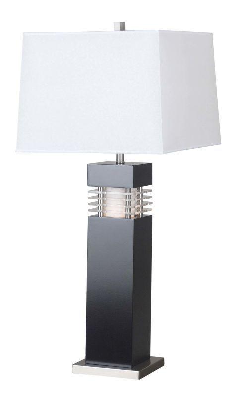 Kenroy Home 20109bl Black Wyatt 1 Light Table Lamp In 2020 Table Lamp Black Table Lamps Lamp