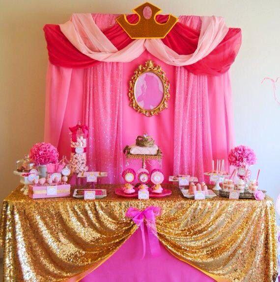 Mesa de dulces aurora | fiestas infantiles | Pinterest | Aurora ...