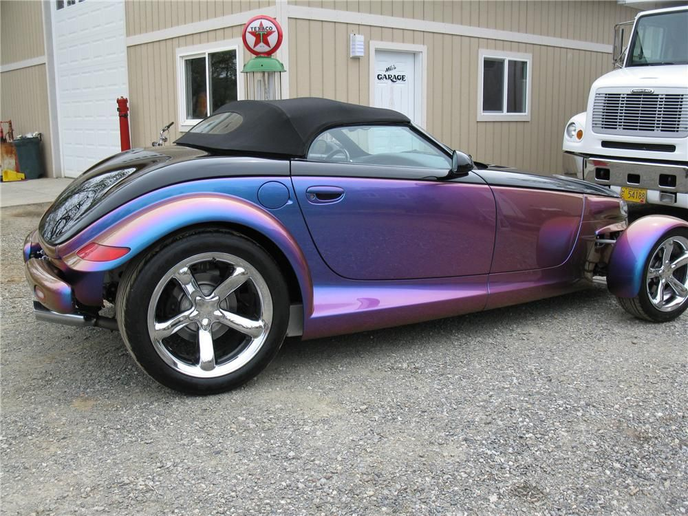 2000 Plymouth Prowler Custom Convertible Dodge Viper Barrett Jackson Auction Kit