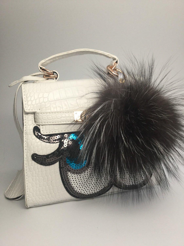 fe2beccfaf Fur bag charm