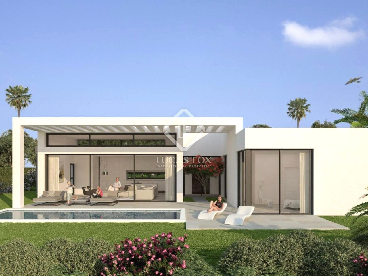 Ville Moderne In Vendita A Estepona Con Case Moderne