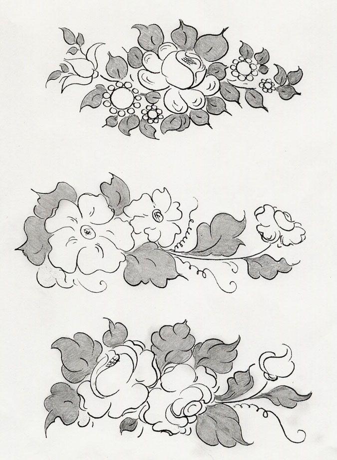 Patrones para pintar en tela imagui flores para pintar - Patrones para pintar en tela ...