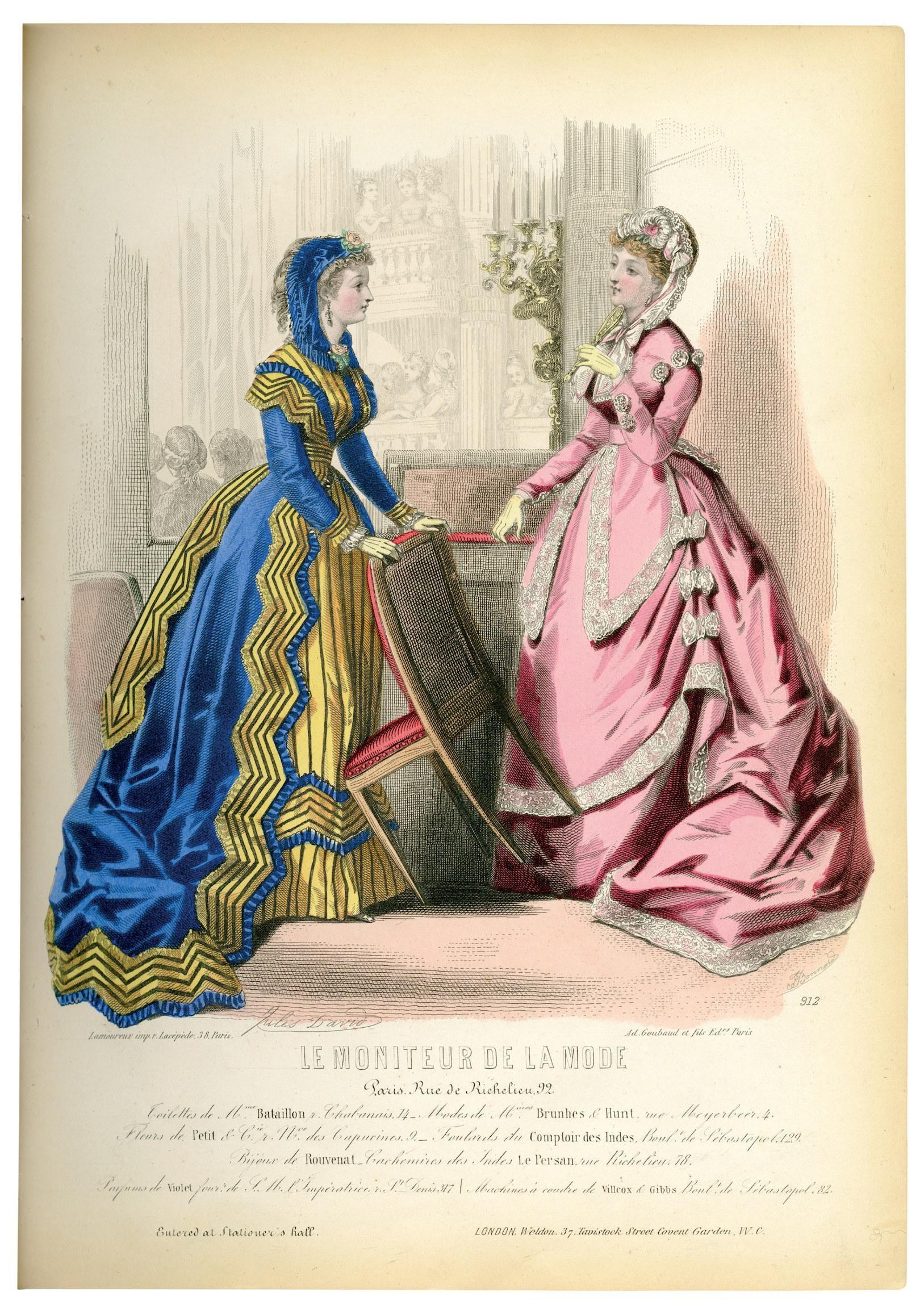 Fit Breaks Down The History Of Fashion Decade By Decade Fashion Plates Fashion Books Victorian Fashion