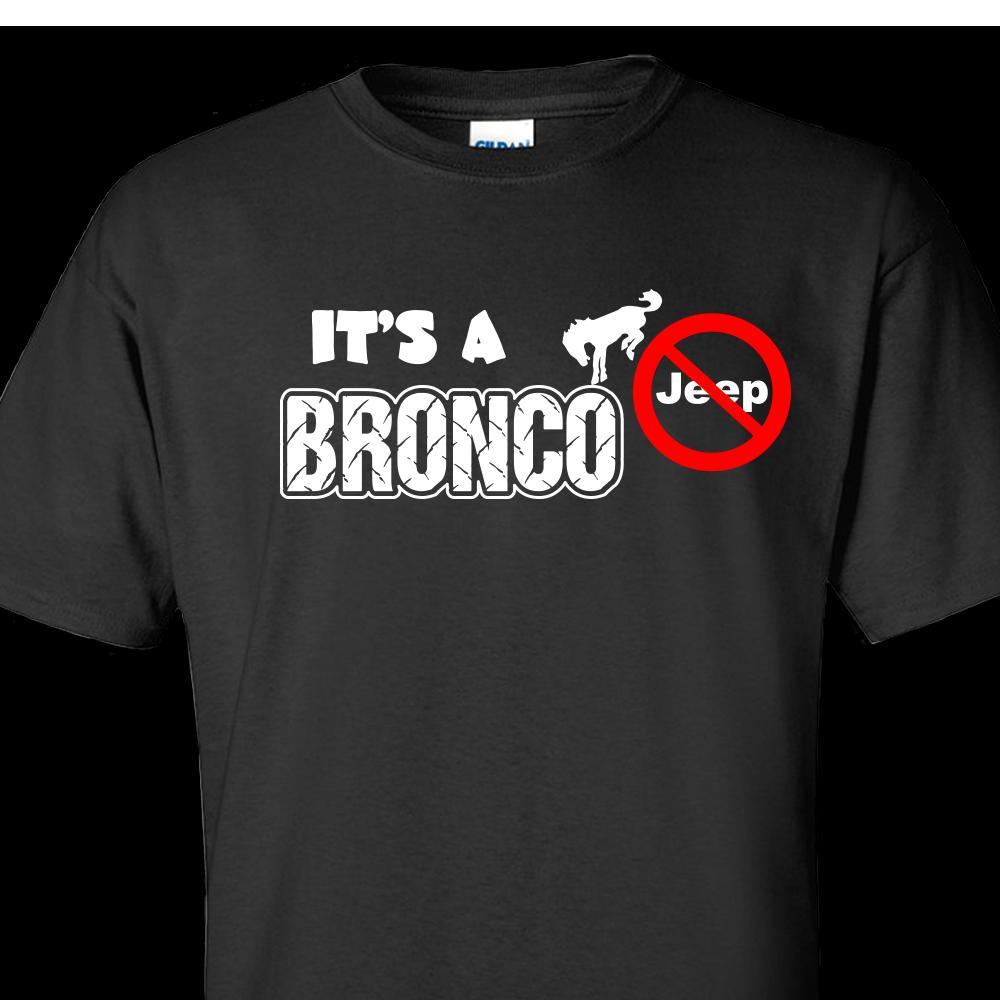 custom broncos t shirts