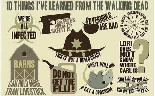 10 Things I've Learned from TWD
