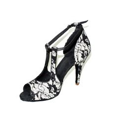 Dance Shoes - $32.99 - Women's Satin Lace Heels Sandals Latin Dance Shoes http://www.dressfirst.com/Women-S-Satin-Lace-Heels-Sandals-Latin-Dance-Shoes-053024635-g24635