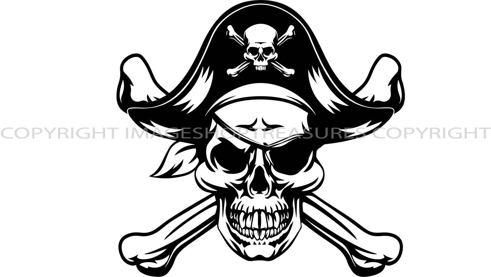 Pirate Skull Flag Sailor Cap Crossbone Sword Piracy Ship Bones Etsy Pirate Skull Pirate Tattoo Pirate Images