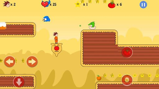 """Rendered Ideas presents side scrolling platformer game """"Adventure of Ted 2"""". This game is classic  platformer where player will experience old school side scrolling arcade type gameplay. This is very simple and free to play platform game.<p>On sunny day Ted's kid and his friend was wondering around jungle and suddenly Evil Domba appeared from deep jungle. He captured Ted's kid. Now you have to help Ted rescue the little kid. Dodge all the creatures sent by Domba to stop Ted & teach Domba a…"""