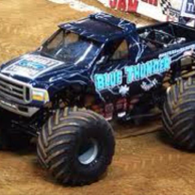 Drive A Monster Truck Http Www Fitnessgeared Com Forum F239 Car And Motorcycle Forum Monster Trucks Big Monster Trucks Blue Thunder