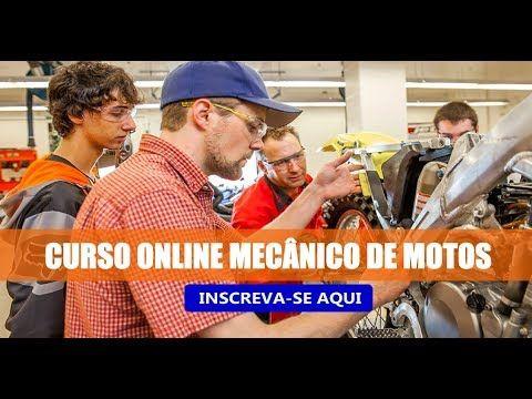 13f2f755b14 Curso Mecânico de Motos Online. Confira!