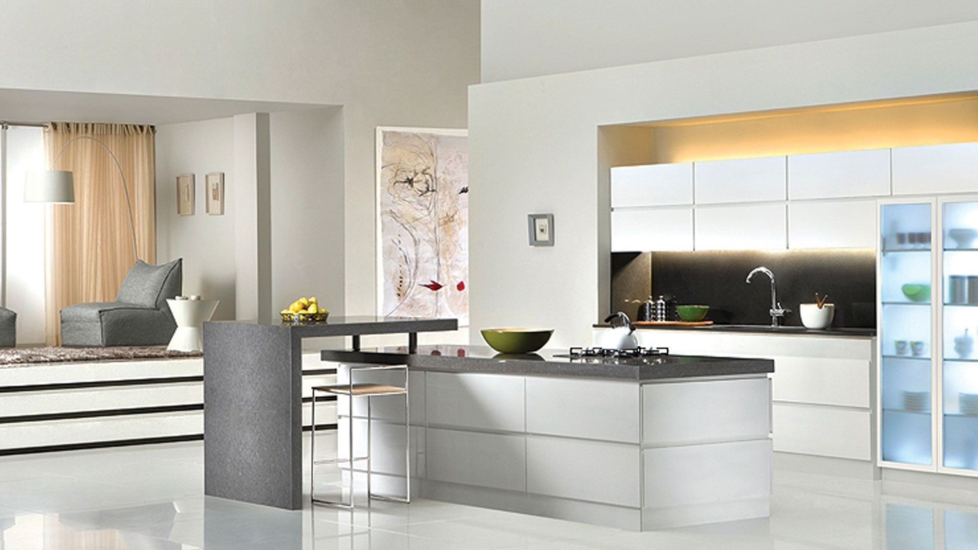 Kitchens | Categories | Crystal Cabinets | Amazing Kitchens ...