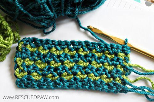 Single Crochet Cluster Tutorial | Pinterest | Selber machen