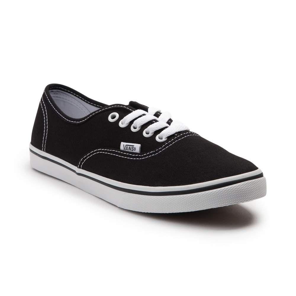 Vans Authentic Lo Pro Skate Shoe Black (With images